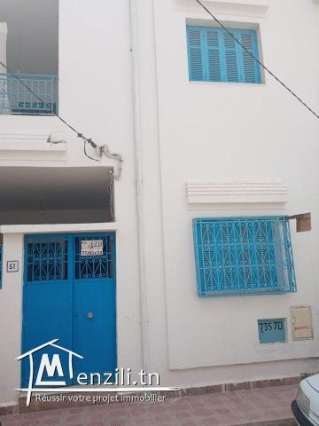 A vendre Rez de chaussée + 1 Étage A Bouficha Sousse. (tele: 97262633/55365875)
