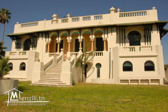 château de 1897 avec 43 hectares d'oliviers irrigués