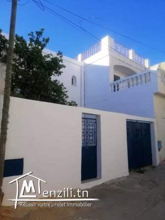 Duplex à El Omrane Supérieur