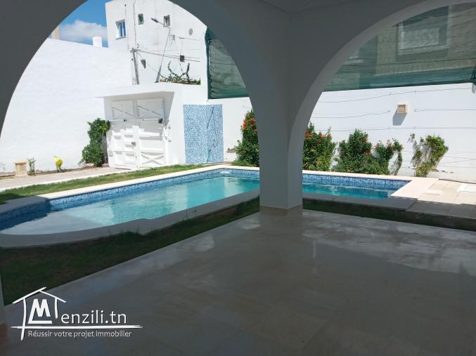 Zone Simbad à louer très belle villa lumineuse  neuve non meublée