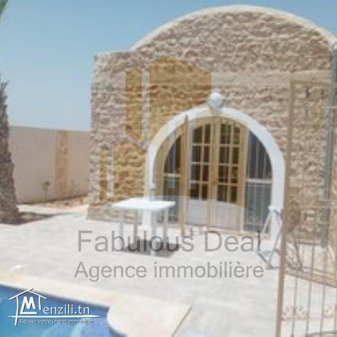 Une maison style arabesque à Yasmine Hammamet