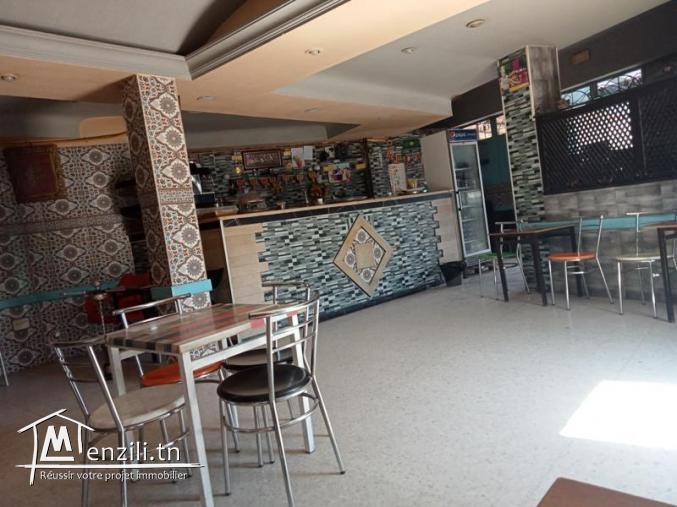 Fond de commerce salon de thé avec terrasse