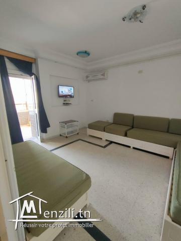 Un appartement S2 richement meublé à Hergla