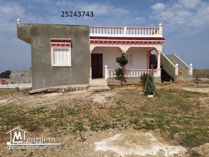 a vendre une villa a el haouaria -bni khira- avec vue de mer