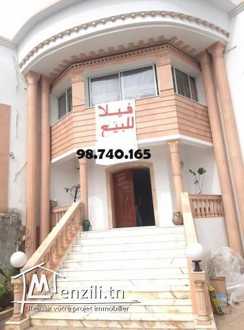 Superbe villa au 2éme position de la plage Hammem Sousse