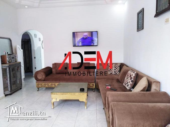 Maison bien situé à sidi abedlahmid
