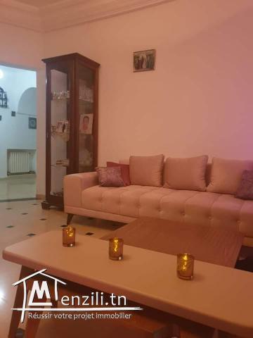Loue Etage Villa Hammam Chatt
