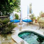 maison traditionnelle arabe rénovée
