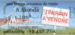 un magnifique terrain a vendre 1111 m² à akouda sur la route principale