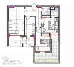 Un S+2 avec jardin de 13 m² avec une bonne orientation à AFH Mrezga
