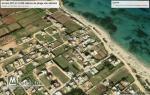 terrain d'habitation 227 m²  à dar allouche  200 mètres de la plage